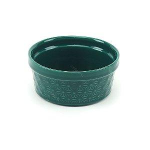 Mini Bowl de Cerâmica Verde Escuro
