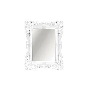 Espelho Decorativo Rococó Branco 10x15