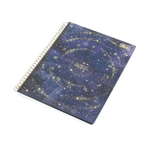 Caderno Colegial Magic Signos 80 Folhas