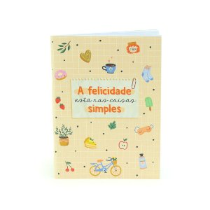 Caderno Dueto Happy Time
