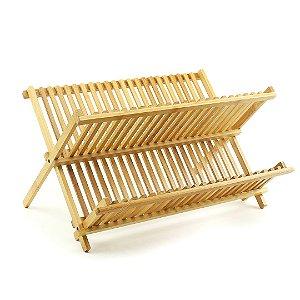 Escorredor de Pratos em Bambu Tyft