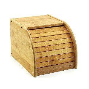 Porta-Pão em Bambu Pequeno