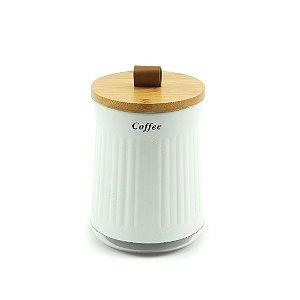 Pote para Alimento Cristal Coffee
