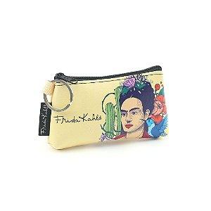 Carteira Mini Estampada Frida Kahlo Pés para Que os Quero