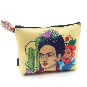 Necessaire de Viagem Grande Frida Kahlo Pés para Que os Quero