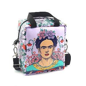 Bolsa Térmica Média Frida Kahlo Flor de Maracujá