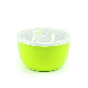Pote Isotérmico para Alimentos 2 Compartimentos Verde