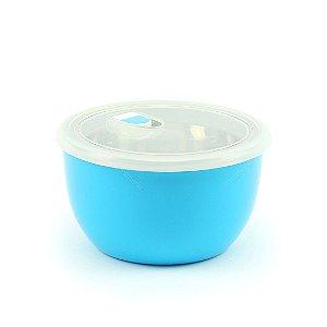 Pote Isotérmico para Alimentos Dois Compartimentos Azul