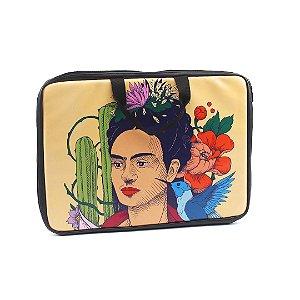 """Case para Notebook 15,6"""" Frida Kahlo Pés para Que os Quero"""
