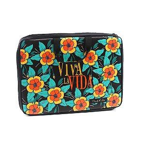 "Case para Notebook 15,6"" Frida Kahlo Viva La Vida"