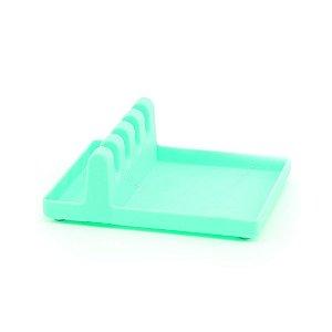 Suporte Plástico para Utensílios Verde