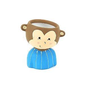 Cachepô de Cerâmica Macaco
