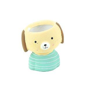 Cachepô de Cerâmica Cachorro
