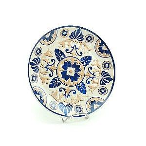 Prato Decorativo Médio Azulejo