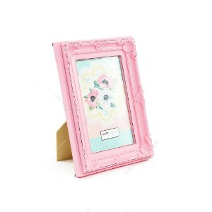 Porta Retrato Vintage Candy Rosa 10x15