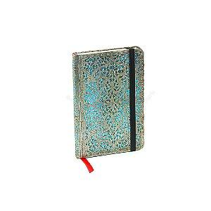Caderno Paperblanks Silver Filigree Maya Capa Dura Mini