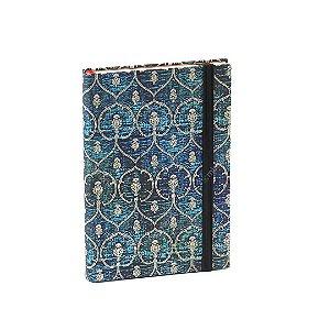 Caderno Paperblanks Blue Velvet Capa Dura Médio