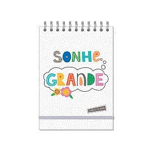 Caderno de Ideias Frases Coloridas