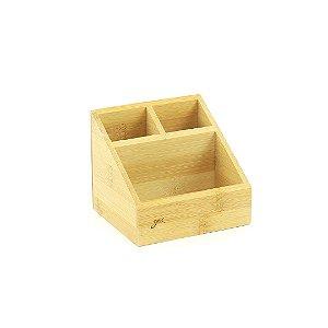 Organizador Porta Objetos Bambu Pequeno