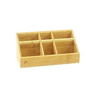 Organizador Porta Objetos Bambu Grande