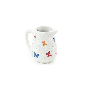 Mini Jarra de Porcelana Borboleta