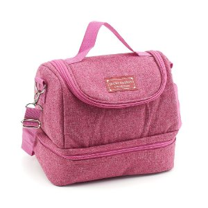Bolsa Térmica com 2 Compartimentos Concept Rosa