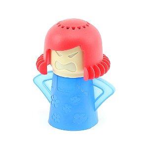 Desodorizador Limpador de Micro-Ondas Angry Mama Azul