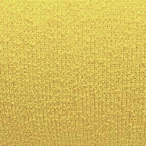 Tecido Atoalhado Felpa Amarelo Forte - 100% Algodão