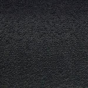 Tecido Atoalhado Felpa Preto - 100% Algodão
