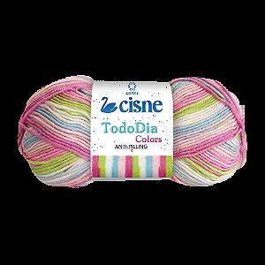 Lã Cisne Todo Dia Colors 100g Cor 72403
