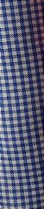 Tecido 100% Poliéster Xadrez PP Azul Marinho