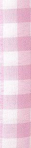 Tecido 100% Poliéster Xadrez M Rosa Bebê