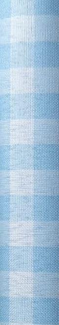 Tecido 100% Poliéster Xadrez M Azul Bebê
