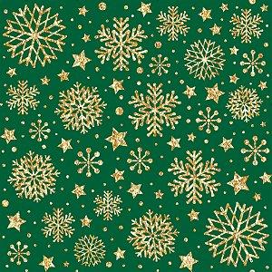 Tecido Tricoline 100% Algodão Natal Comum - 1275-59