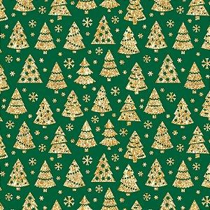 Tecido Tricoline 100% Algodão Natal Comum - 1276-59
