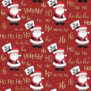 Tecido Tricoline 100% Algodão Natal Comum - 5065-01