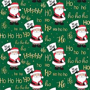 Tecido Tricoline 100% Algodão Natal Comum - 5065-02