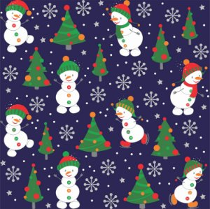 Tecido Tricoline 100% Algodão Natal Comum - 7121-01
