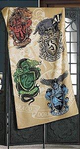 Toalha de Praia Velour AF-958 Estampada Döhler 76X152 cm - Harry Potter 02