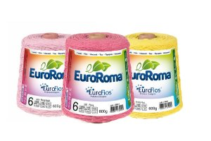 Barbante Euroroma Colorido 600g N.6