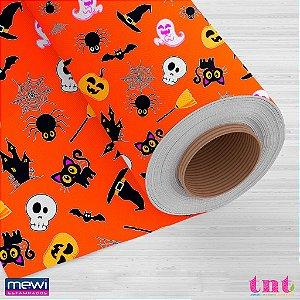 TNT Happy Halloween - Fundo Laranja