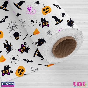 TNT Happy Halloween - Fundo Branco