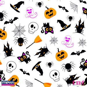 TNT Happy Halloween - Fundo Branco