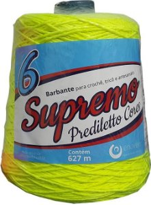Barbante Supremo Prediletto Fluorescente 6 Fios