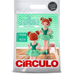 Kit Amigurumi Bailarina Círculo - Maria Clara