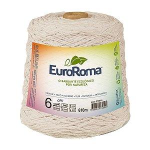 Barbante Euroroma 6 600g - Cru