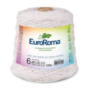 Barbante Euroroma 6 600g - Branco