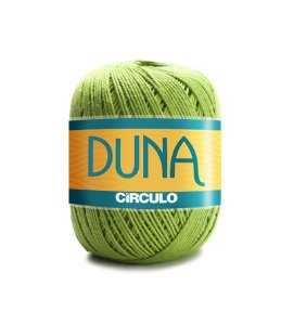 Linha Duna 100g Círculo - Cor 5203 - GREENERY