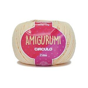 Fio Amigurumi 254m Círculo - Cor 1112 - CREME