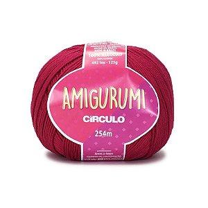 Fio Amigurumi 254m Círculo - Cor 3611 - RUBI